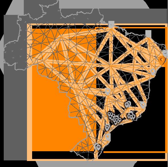 Mapa do Brasil - Unidade Maceió - HD Doctor