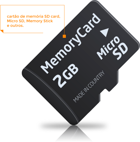 Recuperação de Dados de Memory Card em São Paulo