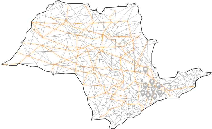 Mapa de São Paulo - HD Doctor