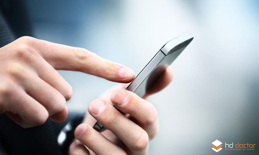 Recuperar dados de celular